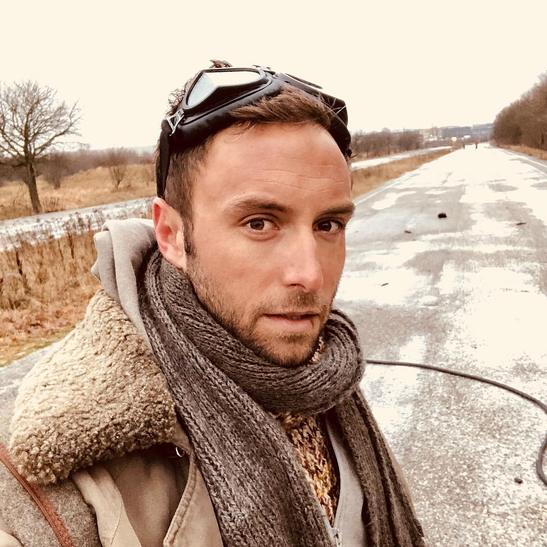 Måns shooting Happyland video clip in Stockholm