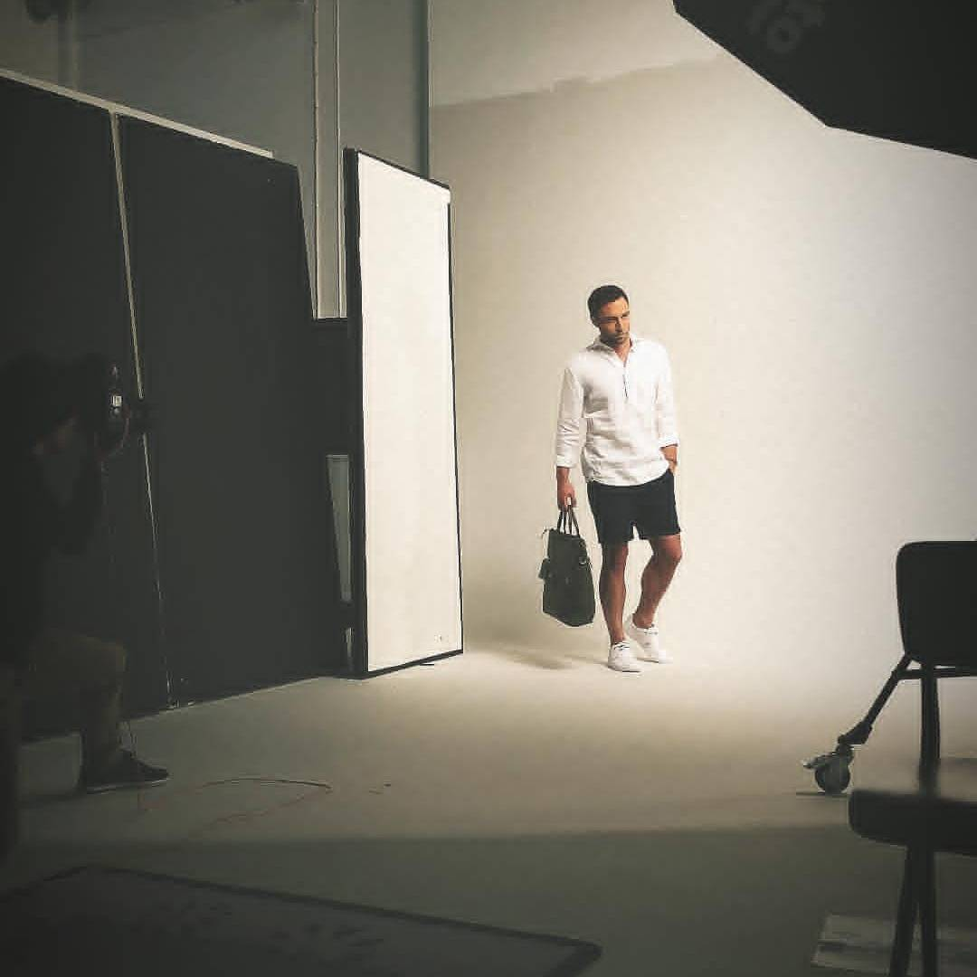 Måns Zelmerlöw shooting Chevaleresk season 2, new collection with Ellos
