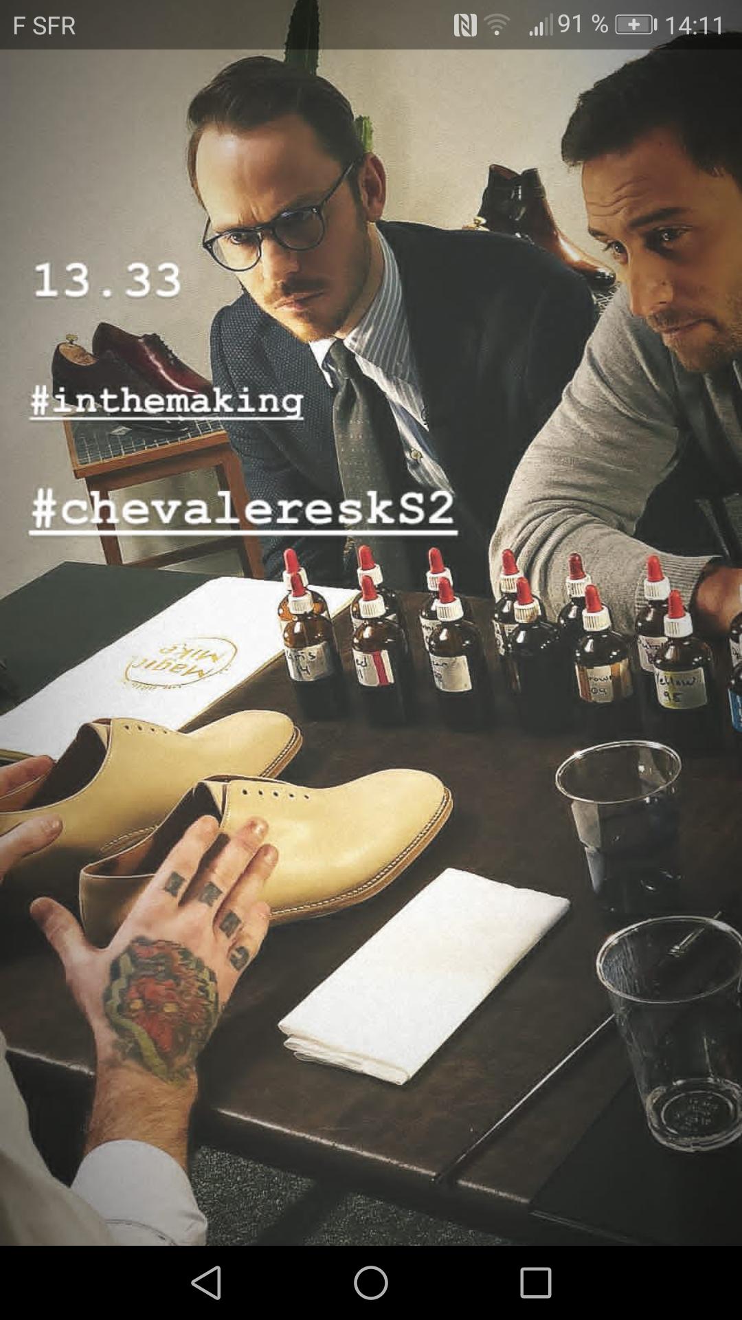 Chevaleresk season 2 shooting – part 1/3
