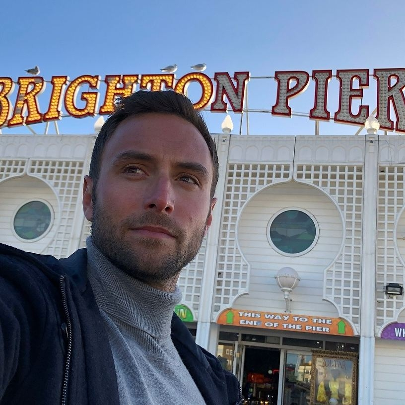 Måns shooting in Brighton Palace Pier for Eurovision You Decide BBC 2