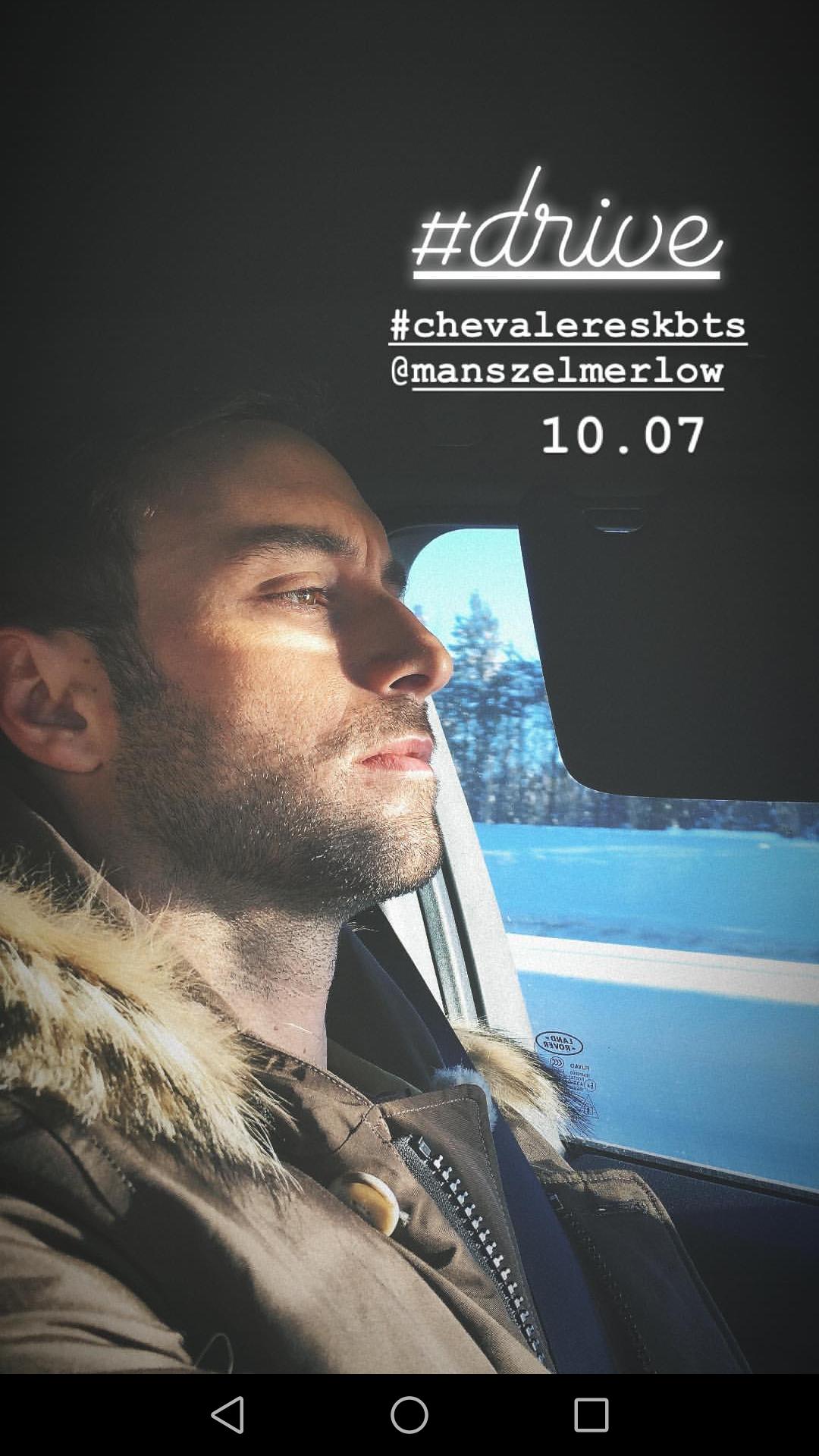 Chevaleresk season 2 on set – here we go again !