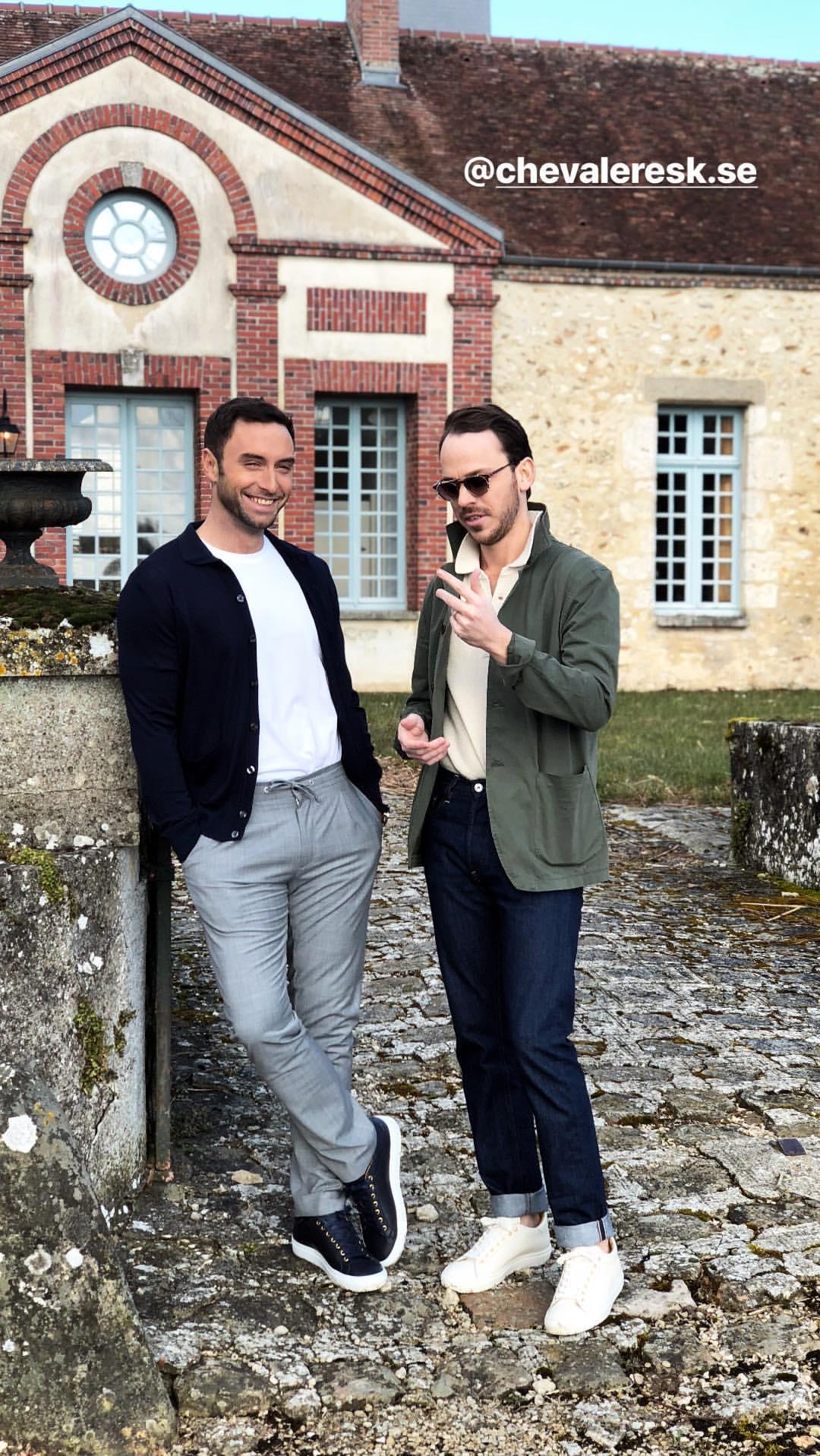 «Bienvenue» in France to all the Chevaleresk Team