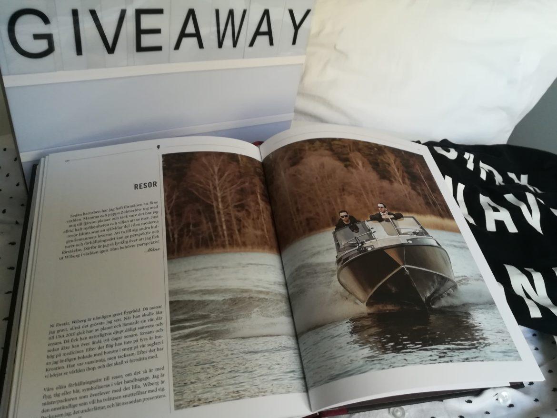 Win 'Den Moderna Gentlemannen', Måns & Wiberg's book