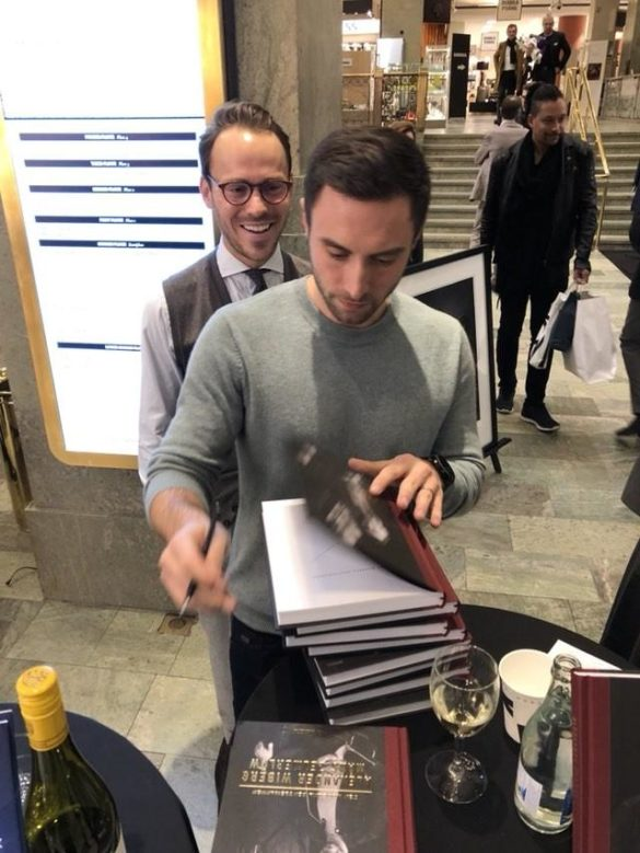 Busy days in Stockholm for Måns !
