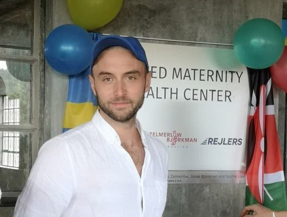 Inauguration of the Kenswed Maternity & Health Center !
