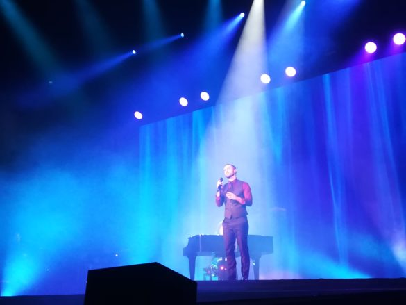 Måns stole the show at Vintergalan in Malmö !