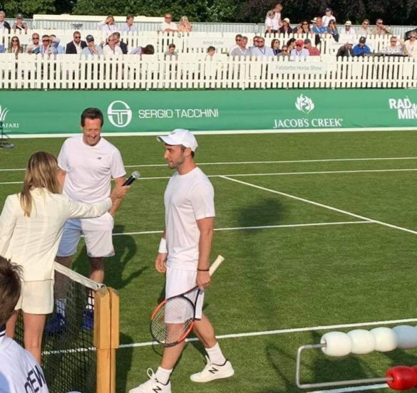 Winning game for Zelmerlöw & Björkman Foundation at Svaneholm Open
