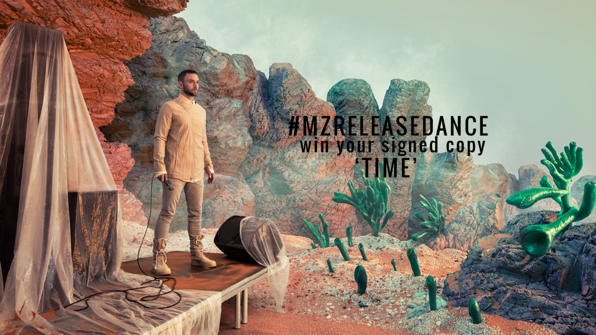 #MZRELEASEDANCE – 'TIME': Win your signed copy!