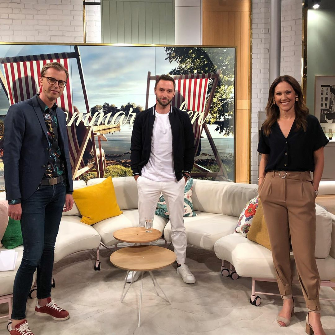 Måns' interview on Nyhetsmorgon (TV4)