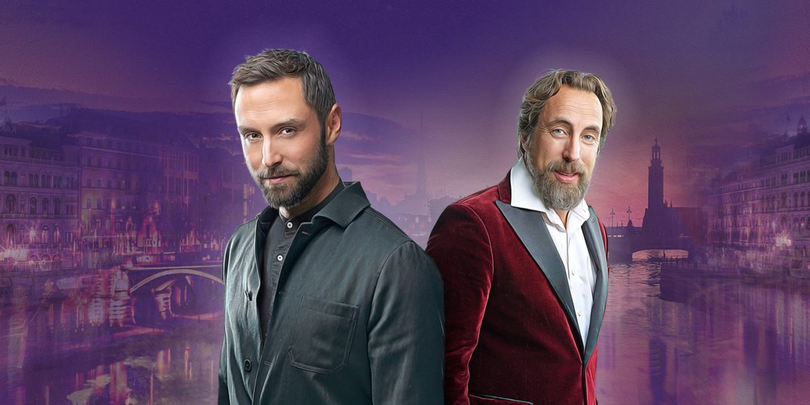 Måns & Per Andersson together for the Christmas Show of the Year.
