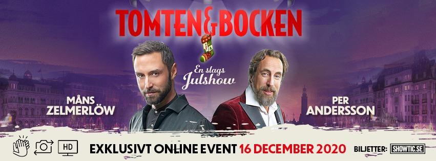 AN EXCLUSIVE ONLINE EVENING WITH TOMTEN & BOCKEN!