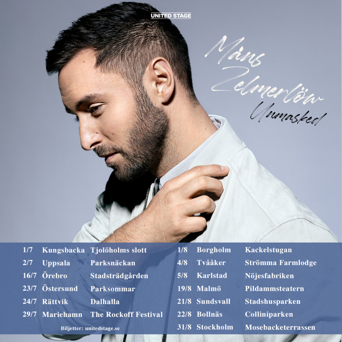 Måns on tour this summer !